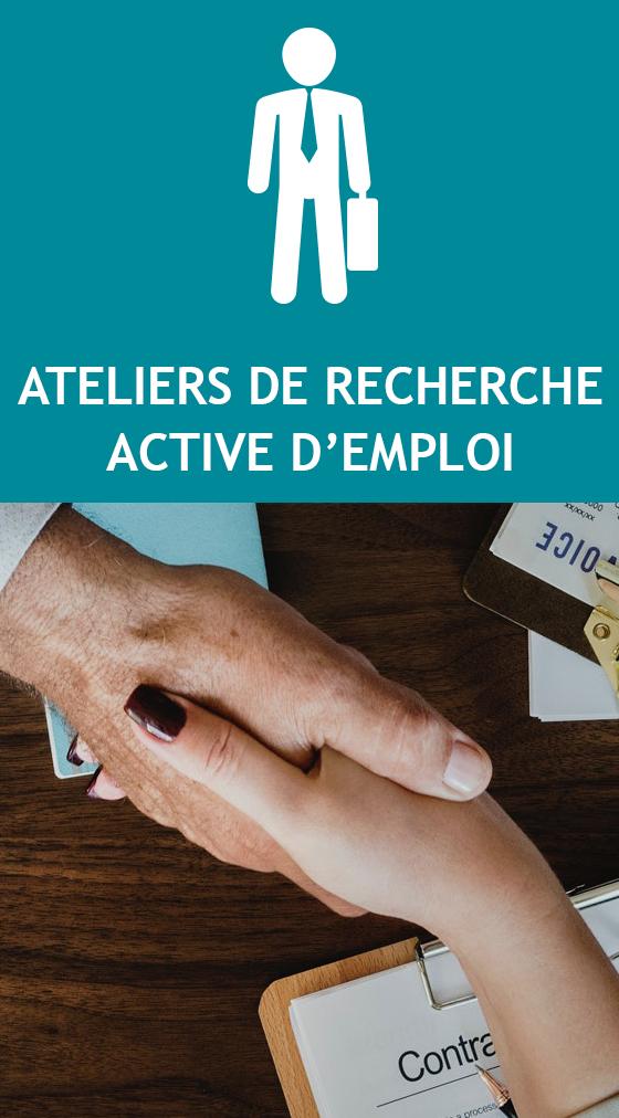 L'ATELIER DE RECHERCHE ACTIVE D'EMPLOI
