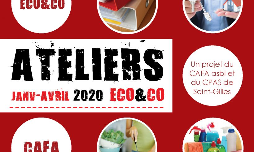Ateliers Eco&co Janvier – Avril 2020