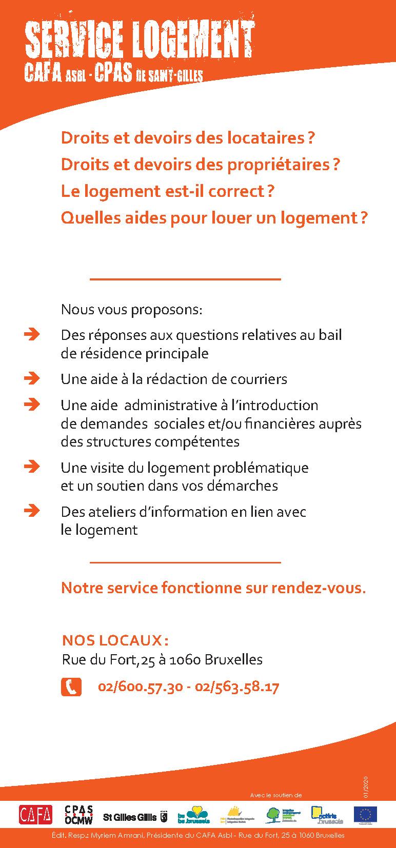 Service Logement