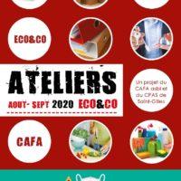 Ateliers Eco&co Août- Septembre 2020