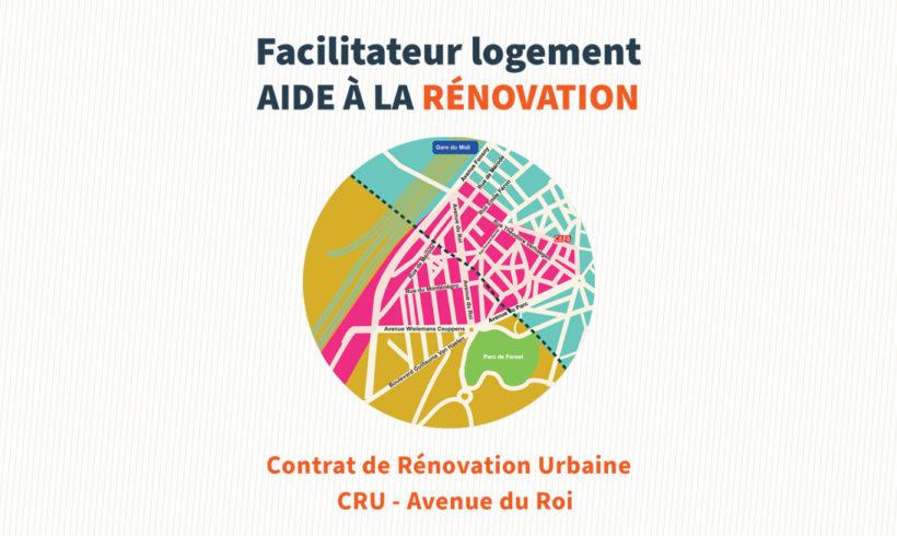 Contrat de Rénovation Urbaine CRU – Avenue du Roi