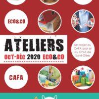 Ateliers Eco&co Octobre – Décembre 2020