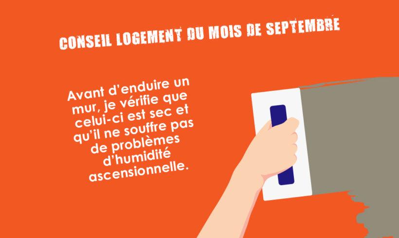 Conseil Logement du mois de septembre