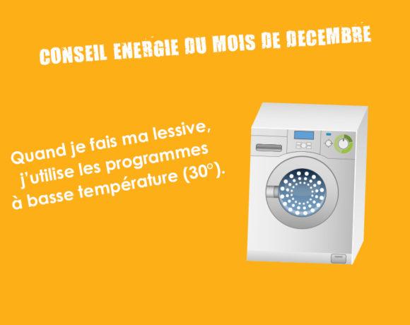 Conseil Energie du mois de décembre