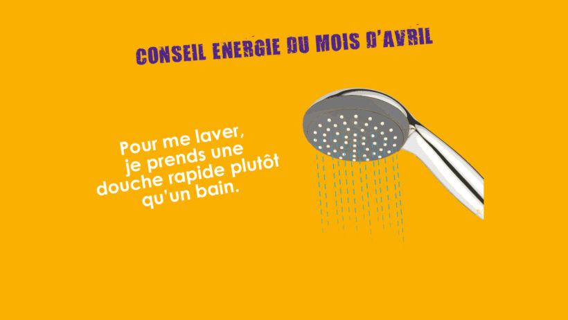 Conseil Energie du mois d'avril