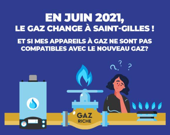 En juin 2021, le gaz change à Saint-Gilles !