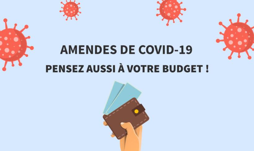 Amendes liées au covid-19